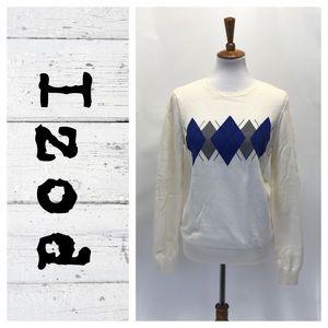 Izod Crewneck argyle sweater